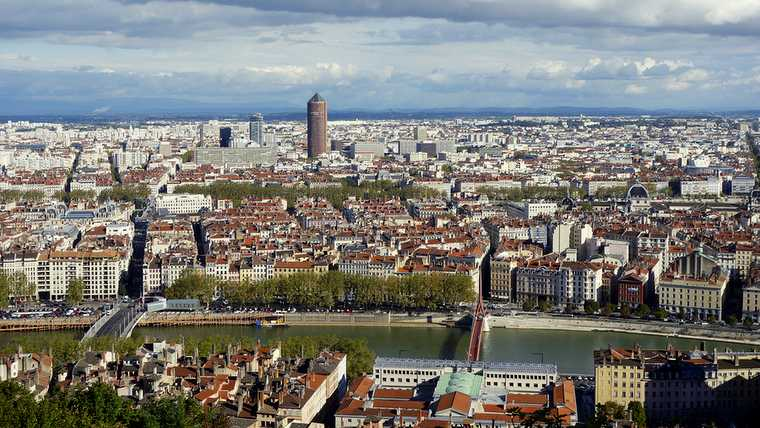 aerial; ancient; apartment; architecture; basilica; blue; building; cathedral; catholic; church; city; cityscape; clear; cloud; cloudscape; colorful; embankment; europe; food; footbridge; fourviere; france; gastronomy; hanging; hill; house; idyllic; landmark; landscape; lyon; medieval; old; panorama; panoramic; red; river; riverbank; riverside; roof; saone; scene; sky; summer; tower; travel; urban; vieux; water; windows; wine;