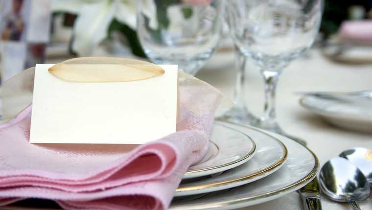 banquet; bridal; buffet; cater; china; cutlery; dine; dining; dinner; dish; eat; elegant; fancy; fine; food; fork; forks; formal; glasses; holiday; knife; knives; linen; lunch; marriage; meal; napkin; nutrition; orchid; pink; place; plate; reception; restaurant; ribbon; romantic; romantic love; round; service; setting; shine; silverware; spoons; table; tablecloth; utensil; water; wealth; wedding; white; wine;